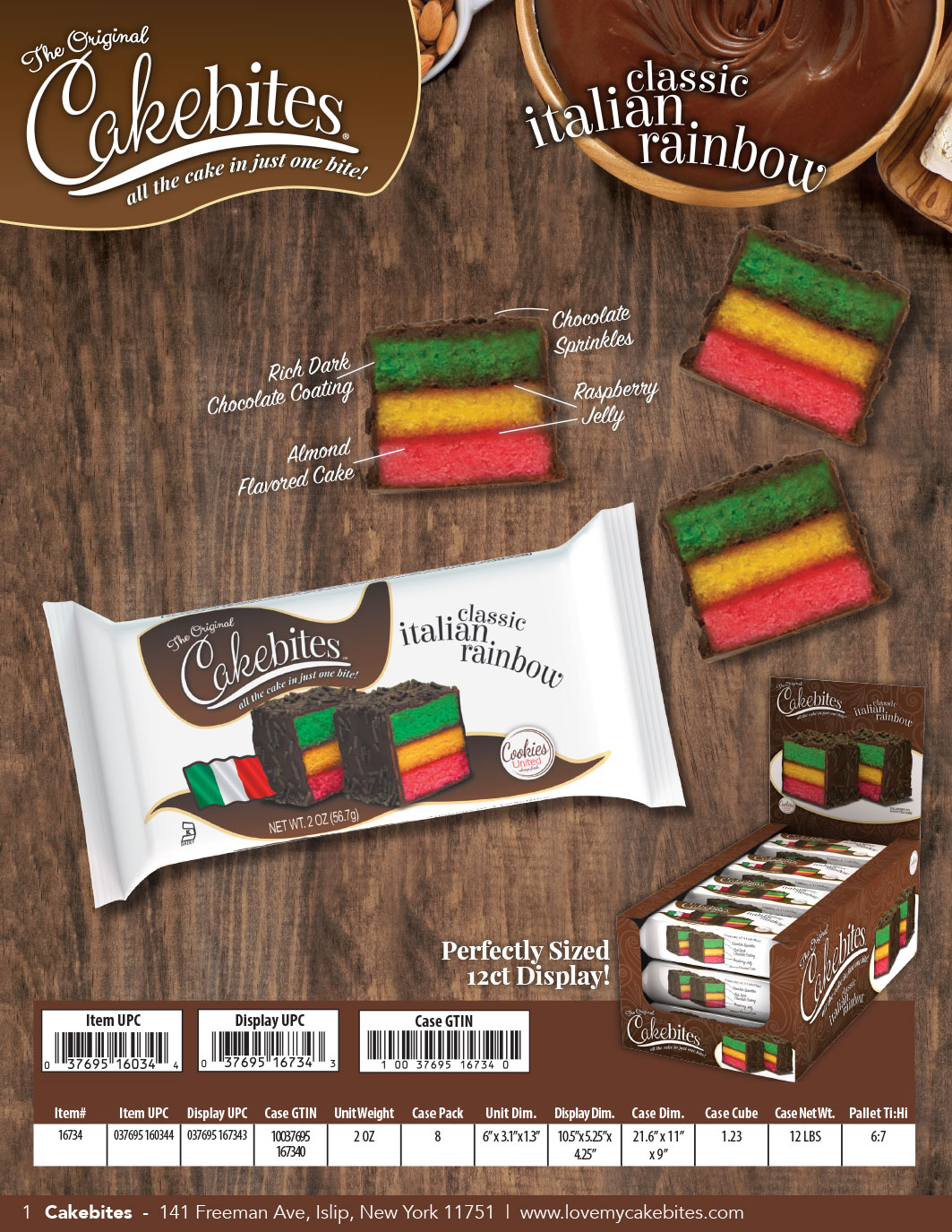 The Original Cakebites The World S Best Rainbow Cookies